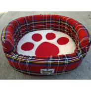 Cama Escocia 70x65x15 T4 Cojin Desmontable Perro Dogmania