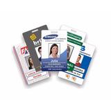 Crachá Pvc Personalizado Cartões Diversos,credenciais
