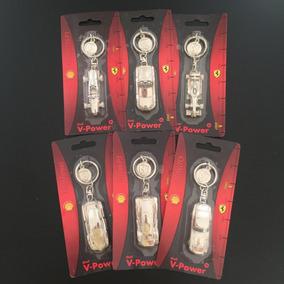 Chaveiro Ferrari Shell Oficial Original Completa Novo Brinde