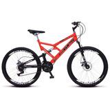 Bicicleta Colli Aro 26 Dp Suspensão Freios Á Disco - 220.12