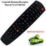 Controle Remoto D#uosat Next Uhd Lite P/ Tv Led Philips