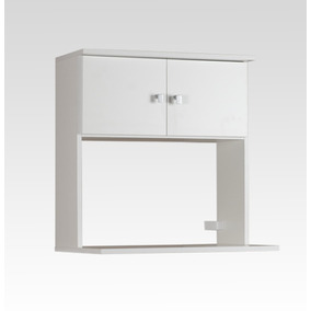 Mueble Microondas Colgante Mcr060 Blanco 2 Puertas Tio Musa