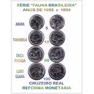 Moedas Série Fauna Brasileira 1993/ 1994 - Cod-276_b