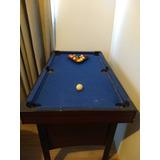 Mini Pool Con Tejo Y Ping Pong