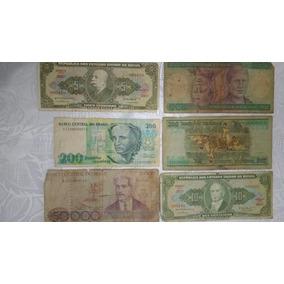 Dinheiro Cedulas Antigas Colecionadores