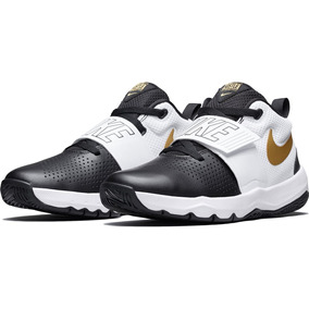 Tenis Nike Team Hustled8(ps) Niño Bc/ngo Original 881942-009