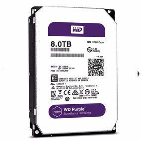 Disco Rigido Western Digital Wd Purple 8tb Dvr Seguridad