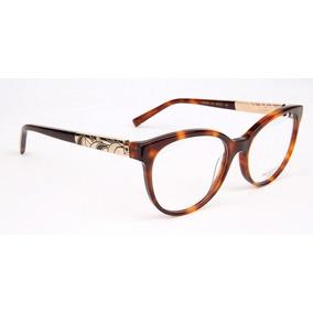 9e7d10b6faa44 Armação Oculos Grau Ana Hickmann Ah62522 G21 Tartaruga · R  439