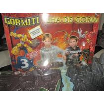 Gormiti Ilha De Gorm Completo + 6 Bonecos