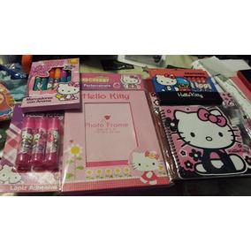 Hello Kitty,plumones, Resistol, Portaretrato, Crayolas, Nuev