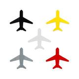 Imã Magnético Painel Mural De Fotos Avião Colorido/preto