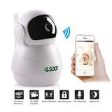 Wireless Ip Cámara 1080p, Nanny Cam, 360 Grados Inteligente