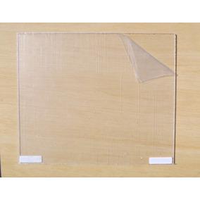 Placa Blank Escudo Pickguard Transparente Acrílico
