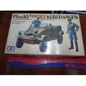 Antiguo Tamiya Kit Plastico Escala 1/35 Vw Kubelwagen