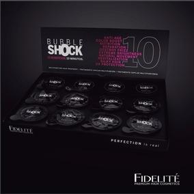 Fidelite Bubble Shock Keratina X12 Rosario