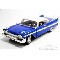 1958 Plymouth Fury Hard Top Motor Max 1:18 Timeless Classics