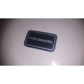 Emblema Volante Opala Diplomata 79 A 80 Peça Nova Original