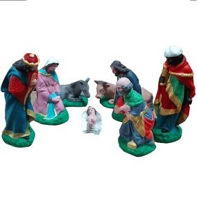 Pesebre Navideño Navidad Maria Jose Figras Tres Reyes Magos