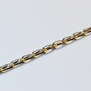Pulsera Oro 18k 18 Cm 2.2 Gramos Mujer Garantía Puor082