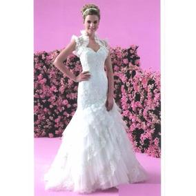 Vestido Noiva - Jasmine - Sereia