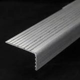 Cantoneira Aluminio Antiderrapante P/ Degrau De Escada C/1mt