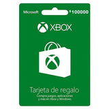 Tarjeta Xbox Live Gift Card 100000 Cop. Region Colombia