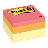 3m Post It Cubo De Notas Adhesivas Jaipur 400 Hojas