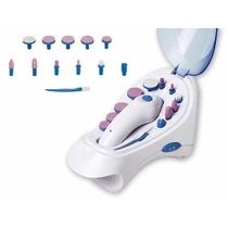 Kit Manicure Pedicure Elétrico Premium C/ Secador Unhas 3000