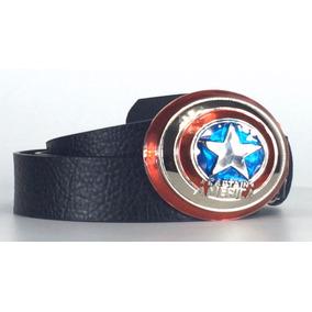 Cinturon Completo Con Hebilla Capitan America