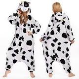 Hermosa Pijama Cosplay Disfraz Vaca Entrega Inmediata