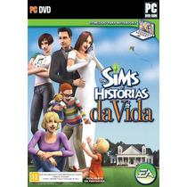 The Sims Histórias Da Vida Com Mais 2 Jogos Brindes!