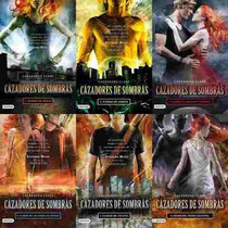 Paquete 6 Libros Cazadores De Sombras Nuevos En Español