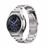 Correa Para Samsung Gear S3 Acero Inoxidable + Cristal