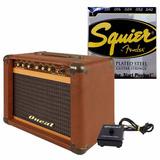 Amplificador Guitarra Oneal Ocg-100f 30w Rms + Enc. Squier