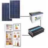 Kit De Energía Solar Apto Heladera Con Paneles Grandes