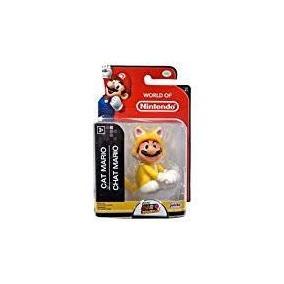 Figura 2 5 Pg Nião Jakks Nintendo Cat Mario Cat Mario