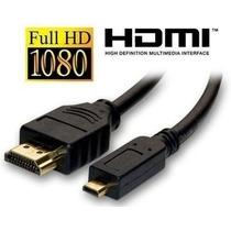 Cabo Micro Hdmi X Hdmi P/ Tablet Celular 3metros Sd6215