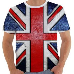 66c71da67d Camiseta   Baby Look Bandeira Inglaterra Em Strass - Camisetas Manga ...