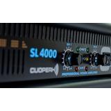 Amplificador Porfesional Poder Cuoperh Sl 4000 Meses Sin Int