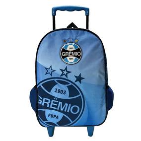 Mala G Com Rodas Grêmio Imortal Tricolor Xeryus 5880
