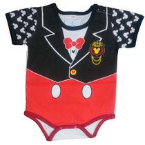 Body Mameluco Niños Bebé Mickey Mouse Nighty-night