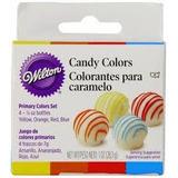 Colorante P/caramelo Y Chocolate X4 - Wilton