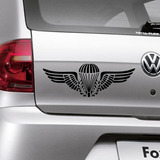 Adesivo Para Carro Breve Paraquedista - Especial 60x21cm