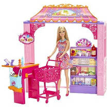 Juguete Barbie Vida En El Dreamhouse Tienda De Ultramarinos