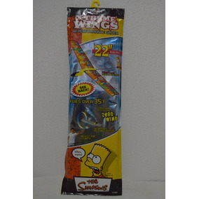 Avion Ultraligero Los Simpsons Alto Performance Cero Viento