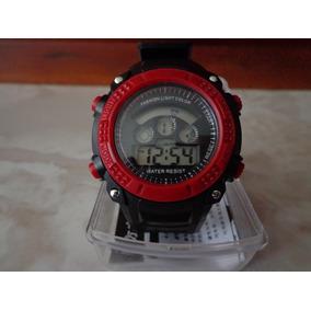 Reloj Digital Cronometro Alarma Luz Nuevo En Estuche Ganalo