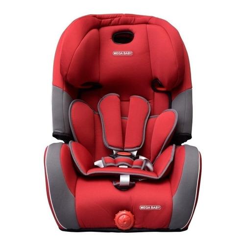 Butaca infantil para auto Mega Baby Indy Rojo