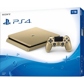 Sony Playstation 4 Slim Edition Gold 1 Terabyte