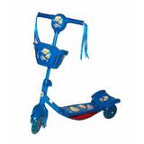 Tri Scooter Monopatin Musical Con Luz Azul / Tecnofactory