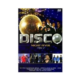 Dvd Disco Night Fever - Vol.2 - Novo E Lacrado